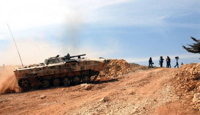 Syria army, Hezbollah advance in Qalamoun