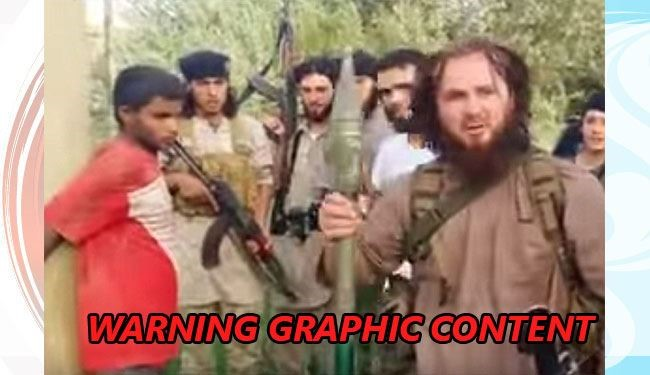 Savageset Ever ISIS Execution Show Killing a Man with BAZOOKA