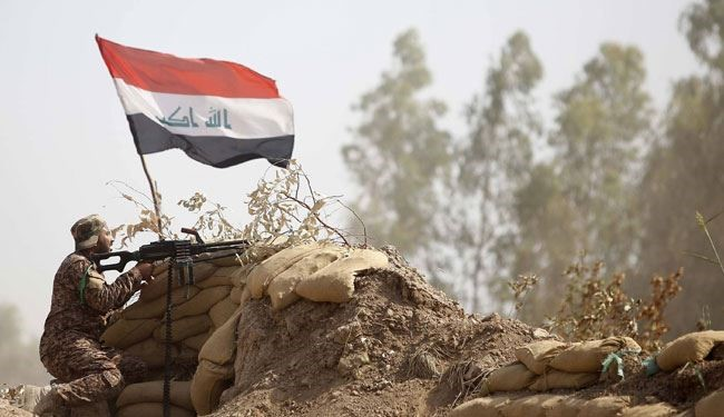 Watch; Frontline Video Shows Iraqi Allied Forces Advancing in Anbar