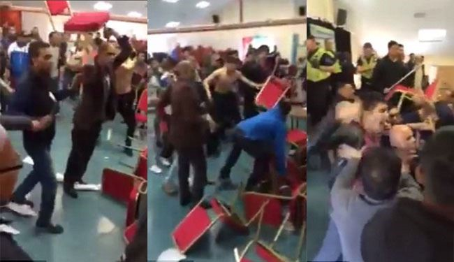 Shocking Violent Scenes at Bangladeshi Community Mosque's Meeting in UK
