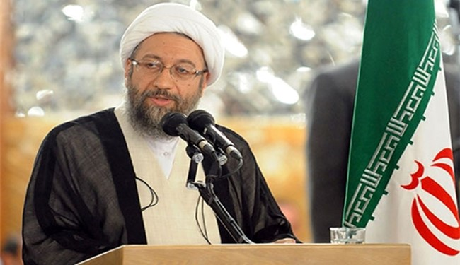 Ayatollah Larijani Criticizes Anti-Iran 'Human Rights' Reports