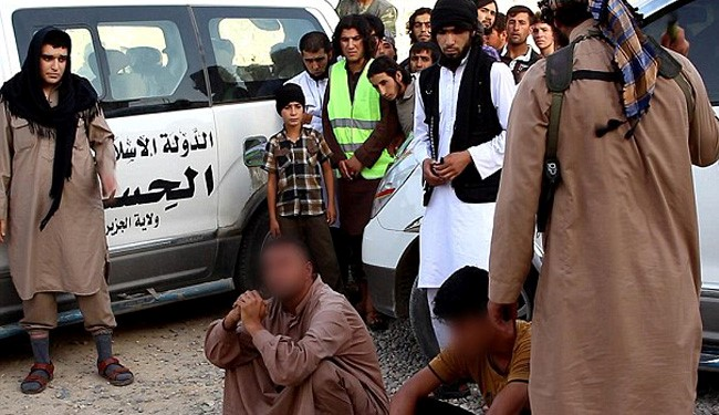 Pics: ISIS Flog 2 Men for Privately Breaking Their Fast