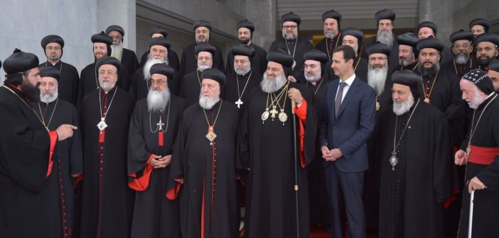 assad-meets-Christian-clerics-702x336