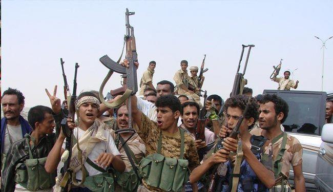 عناصر من اللجان الشعبية اليمنية
