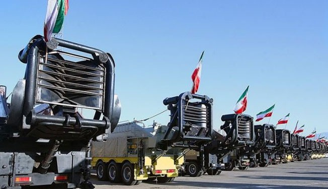 Iran arms the Aerospace Division of IRGC with a large number of long-range missile launchers on May 26, 2013.