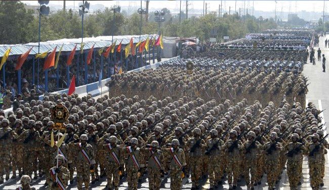 Iran's Army: Islamic Lands never Allow the Separation of Palestine