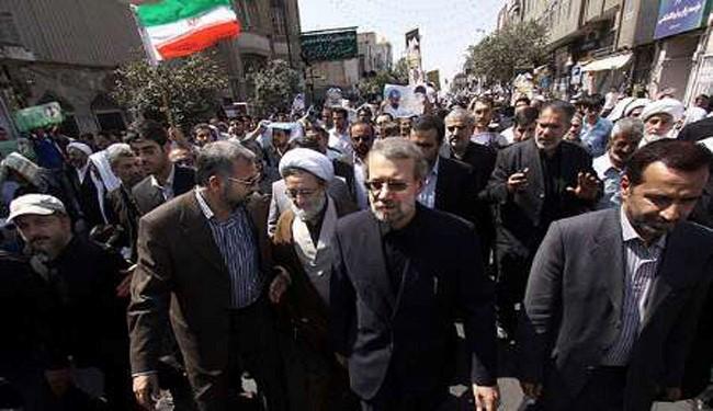 Larijani: Tragedy of Palestine, Proof of West's Hegemony