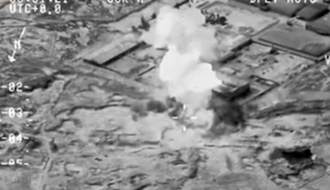 Video: Iraqi Air Force Launches 58 Airstrikes on ISIS Positions