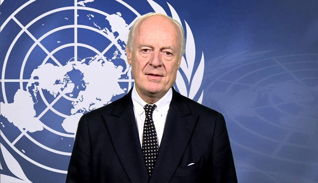 "UN Special Envoy Urges ""Thematic"" Talks on Syria Crisis"