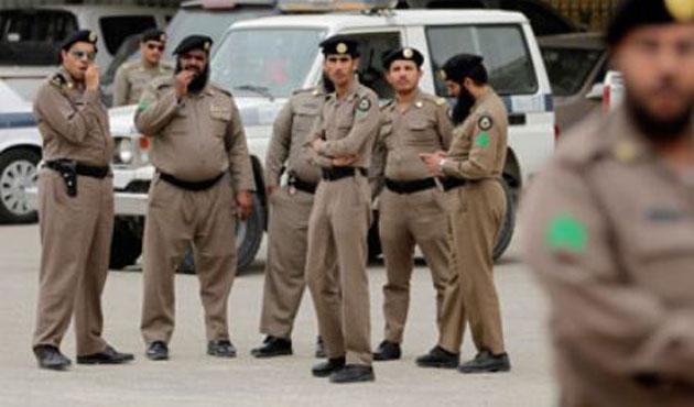 saudi-police