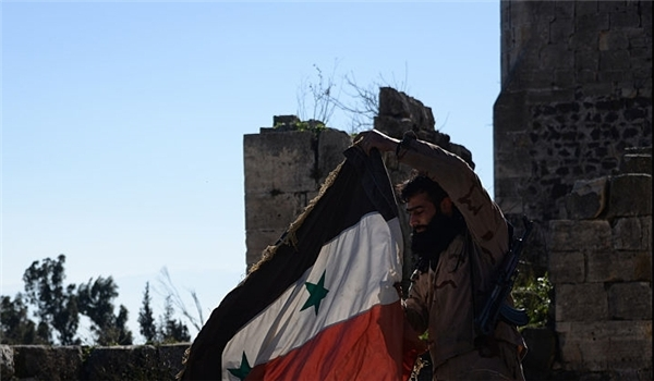 Syrian Army Repels Terrorists' Attack on Strategic Route near Damascus