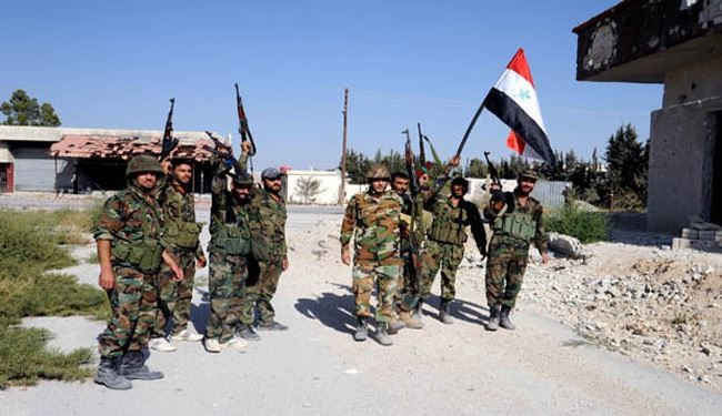 Syria Army Controls of Foru in Hama