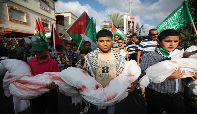 Gaza Youth Protest Israel's Killing of Children