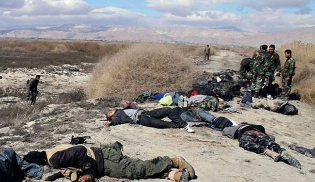 Dozens of Takfiri Terrorists Killed in Lattakia in Syria