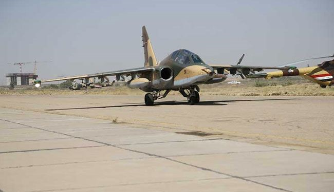 Iraqi Jets Targets ISIS Terrorists and Weapons in Anbar