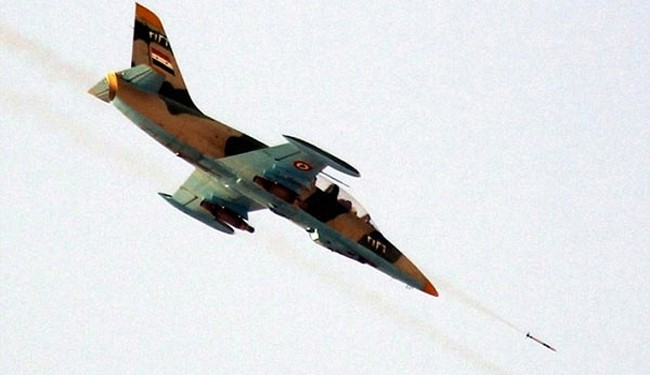 Syrian Air Force Attacks Terrorists near Hama