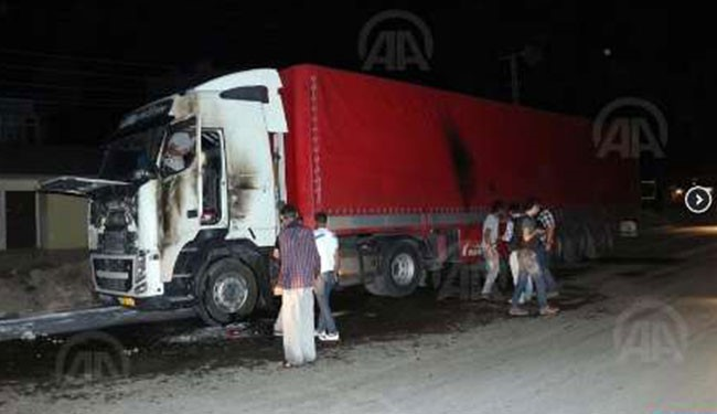 Shamkhani's remark came after several Iranian trucks came under attack after they crossed Bazargan border checkpoint and arrived in Turkey on Monday.