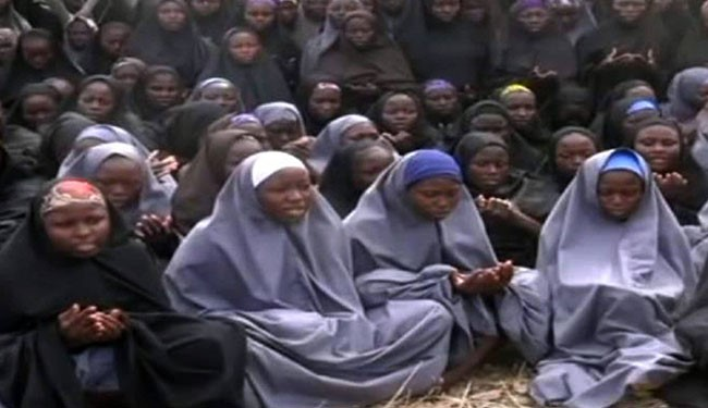 On the night of 14–15 April 2014, 276 female students were kidnapped from the Government Secondary School in the town of Chibok in Borno State, Nigeria. Responsibility for the kidnappings was claimed by Boko Haram, an Islamic terrorist organization based in northeast Nigeria.