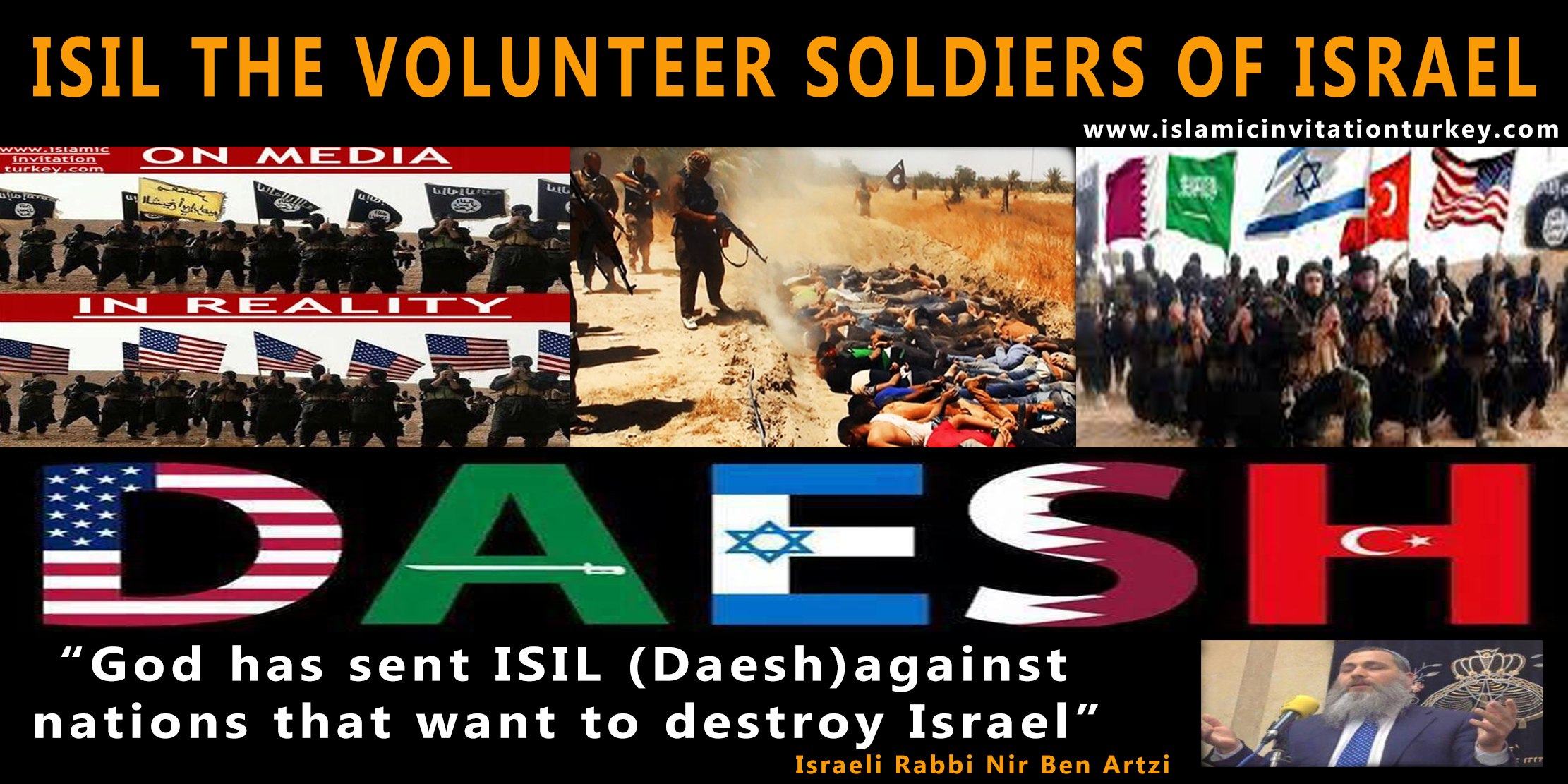 daesh and israel