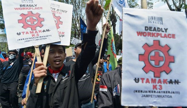 Protest in Indonesia