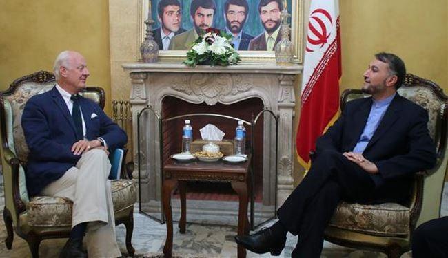 Iran's Deputy FM: President Assad Must Be in Any Plan in Syria