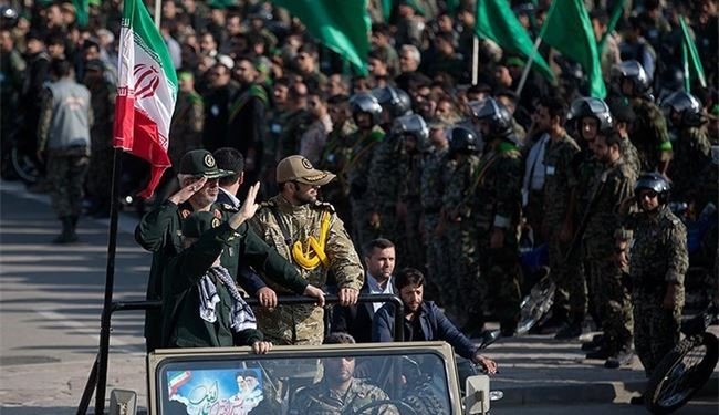 Iran's Basij Forces Hold Massive Maneuver in Tehran