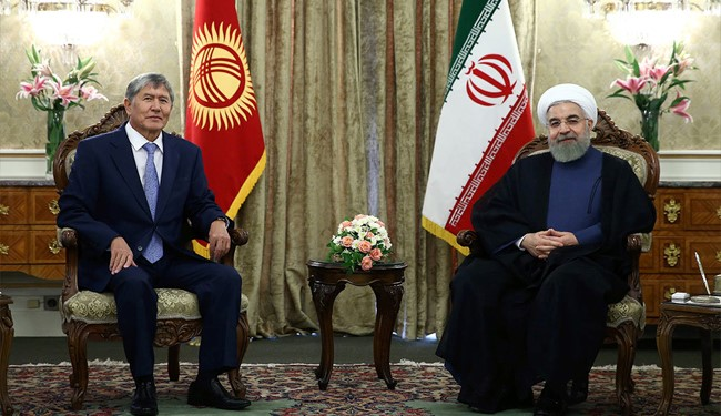 President Rouhani: Iran to Link Kyrgyzstan to High Seas