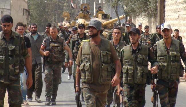 Syrian Army Eradicates Terrorist Group in Daraa