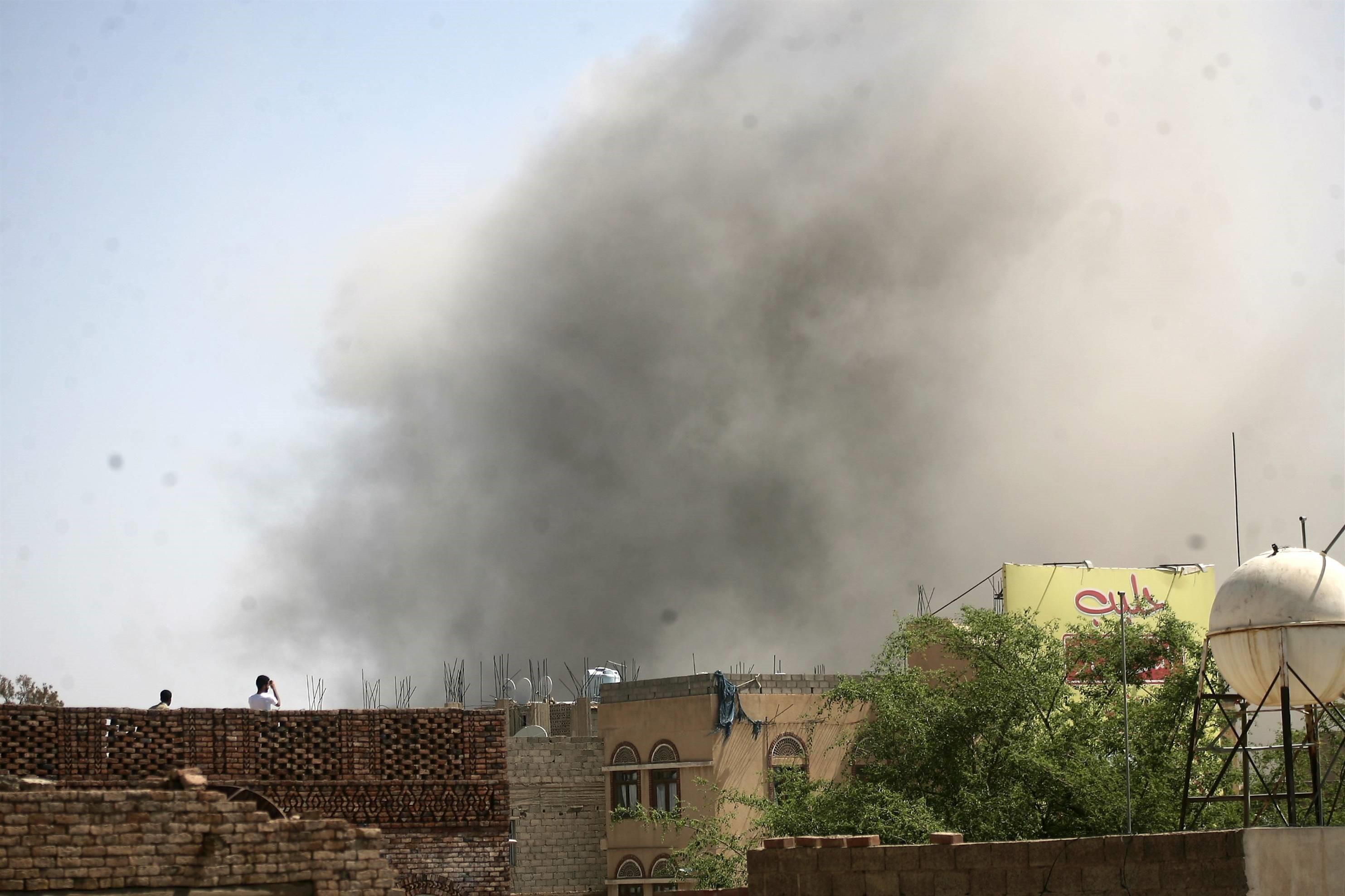 10 Civilian Killed in Saudi Airstrike in Yemeni Capital Sanaa