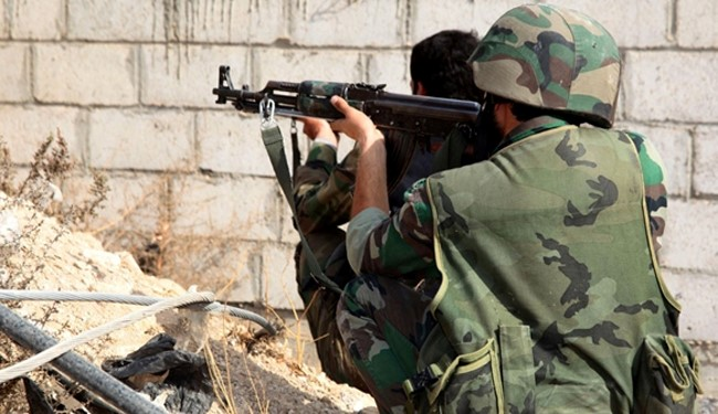 Syrian Army Repels Takfiris' Attacks near Damascus