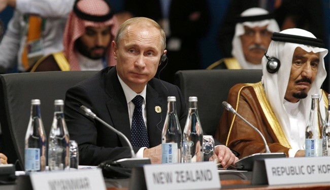 Putin, King Salman Hold Talks on Syria Crisis