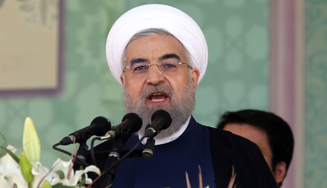 (FILE) Fighting Terrorists Not possible by Airstrikes: Rouhani to US Think Tanks