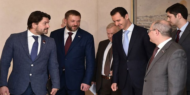Assad_Russian_delegation
