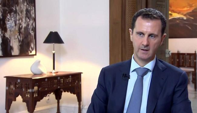 Assad: Iran-Russia-Syria-Iraq Coalition Should Succeed