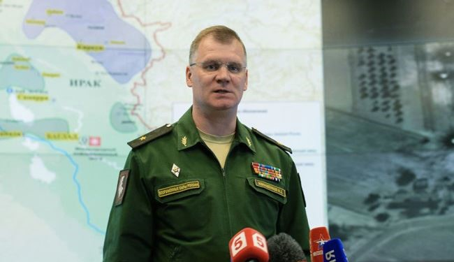 Russian Army: No Syria-Bound Missiles Fell in Iran