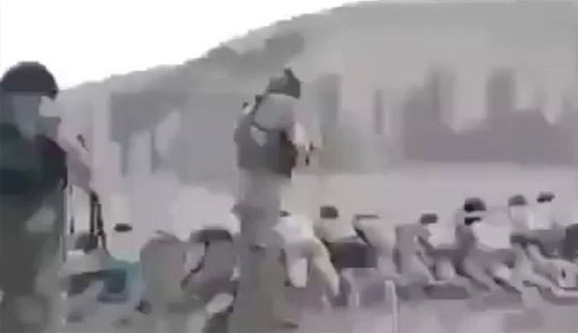 Horrifying Video: ISIS Gun down 200 Captive Syrian Children