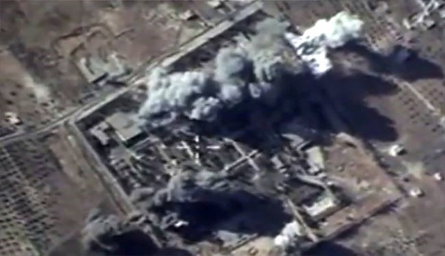 Syrian Fighter Jets, Army Pound ISIL Militants, Ammunition Depot, in Different Cities