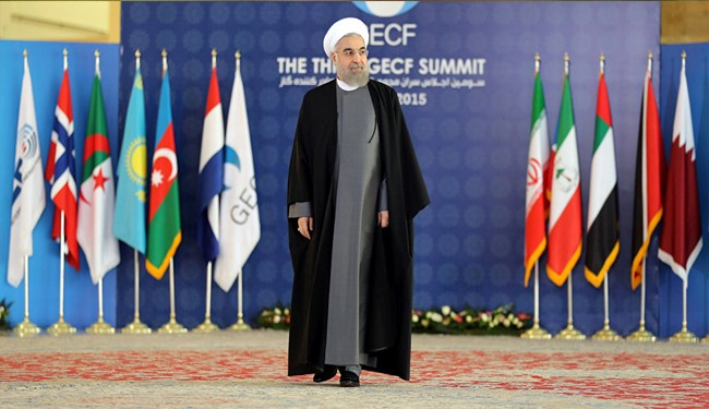 President Rouhani at Third GECF Summit
