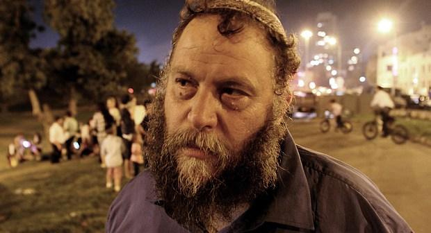 Ultra right wing movement Lehava leader Benzi Gopstein. Photo by Quique Kierszenbaum