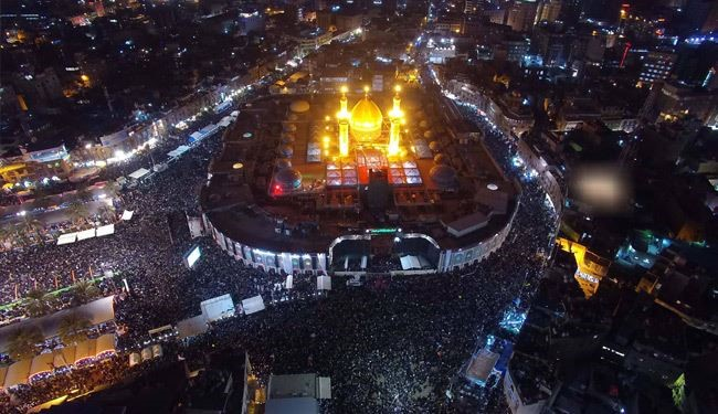 Watch Arbaeen Mourning Rituals in Holy City of Iraq's Karbala