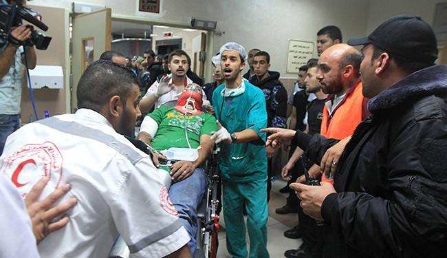(FILE) 6 Killed and injured in Zionists Raid on Qalandiya Refugee Camp