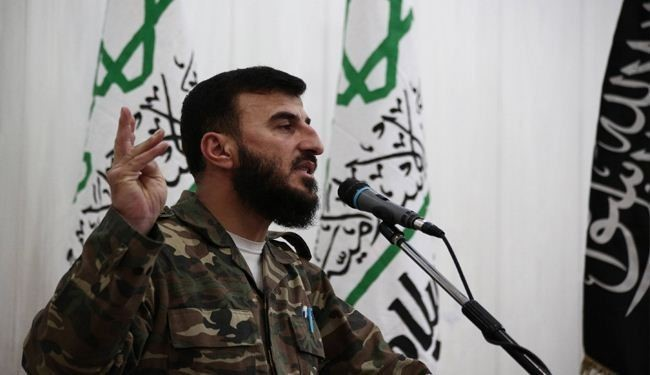 Top Syrian Rebel Leader Zahran Aloush Killed in Aerial Raid