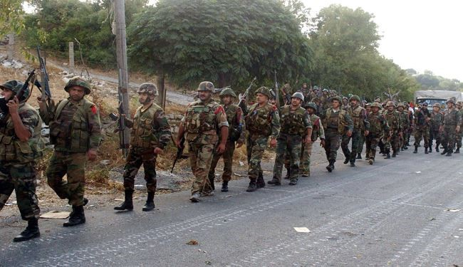 VIDEO: Syrian Army Troops, Hezbollah Forces Enter Northern Latakia Province