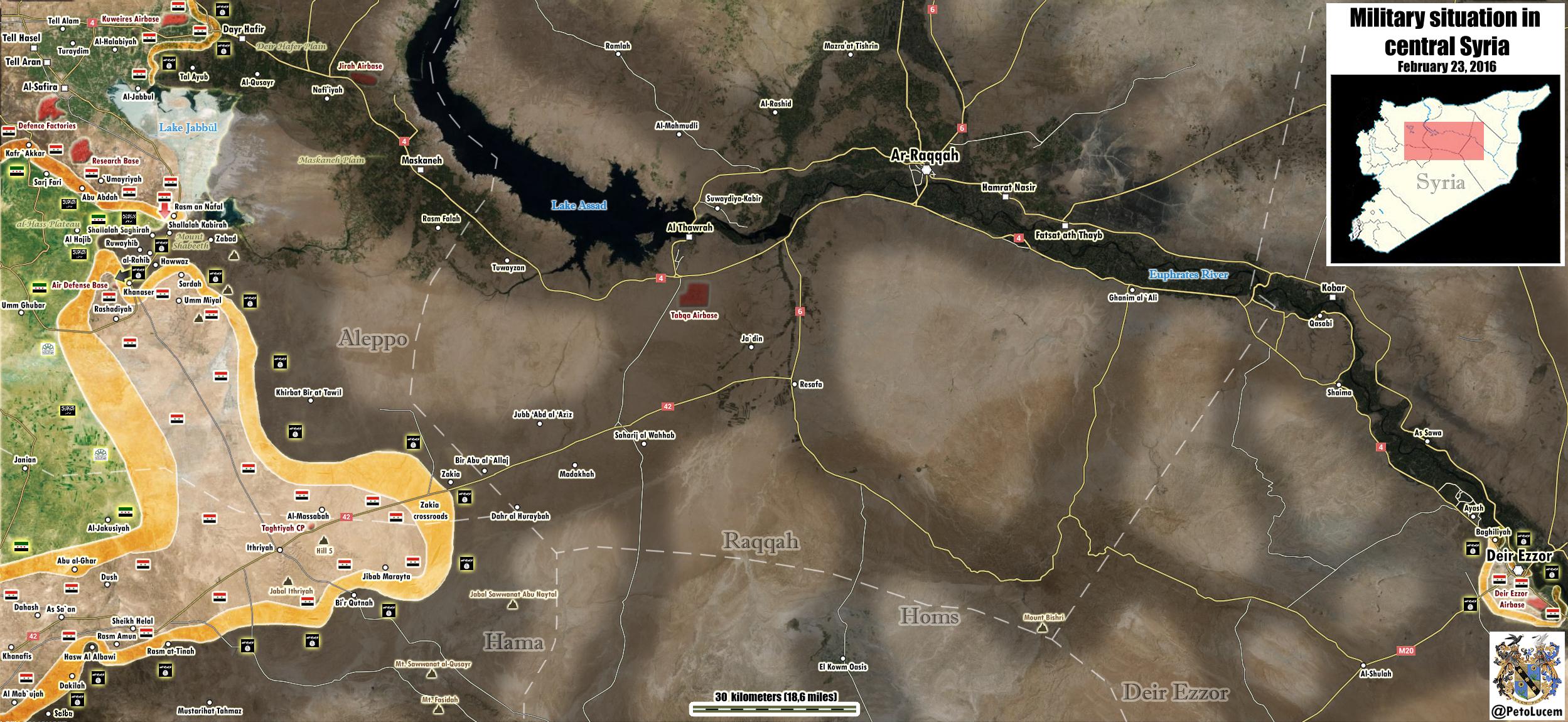 Aleppo-supply-line-map