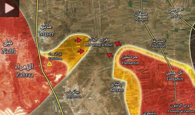 Syrian Army Breaks the Siege of Nubbul and Al-Zahra Towns in Aleppo