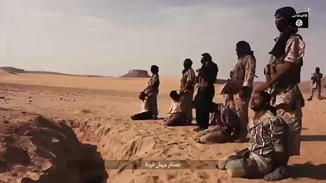 VIDEO: ISIS Executing Men & Women in a Market then Beheading 4 Prisoners