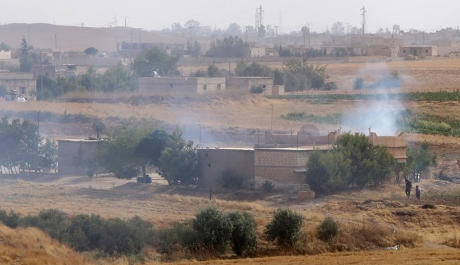 FILE PHOTO: Turkey Continuous Shelling Kurds in Support of ISIS
