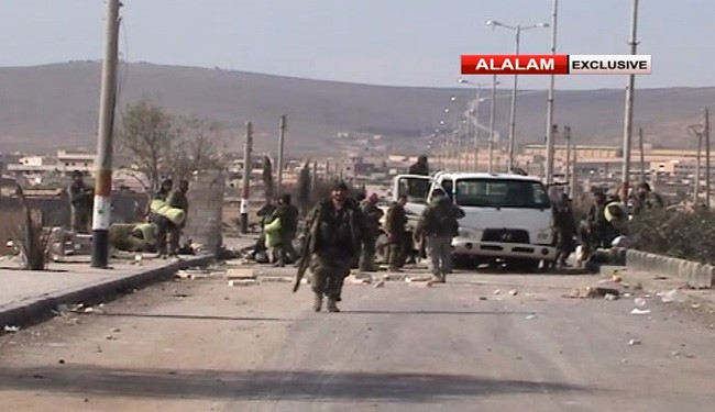 Syrian Army Retakes Aleppo-Khanaser Road in Aleppo