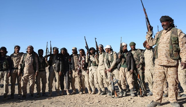 Fighters from the Syrian Democratic Forces (SDF) coalition, which includes Kurds, Arabs and Syriac Christians
