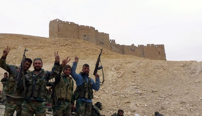 Syrian Army Troops Regain Entire Palmyra from ISIS Terrorists